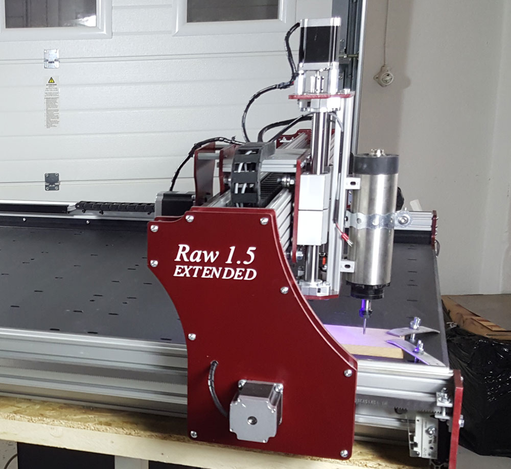 Raw 1 5 Extended Cnc Do It Yourself Kit 130x180cm With
