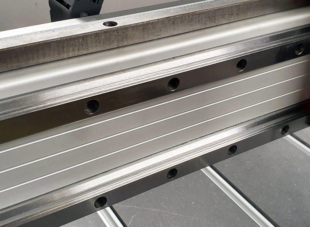 Specially designed aluminum profiles